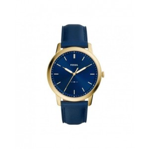 Montre Fossil homme FS5789 Minimalist bleu