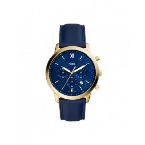 Montre Fossil homme FS5790 Townsman bleu chrono