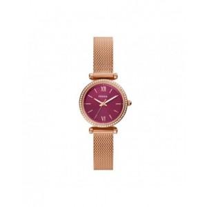 Montre Fossil ES5011 femme carlie mini rosé
