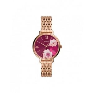 Montre Fossil ES5078 femme Jacqueline acier rosé
