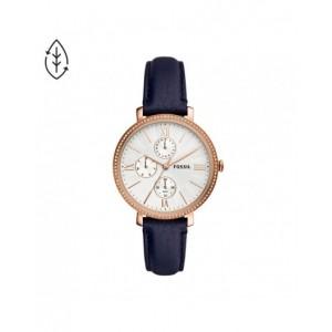 Montre Fossil ES5096 femme Jacqueline cuir bleu
