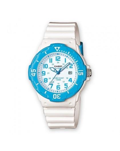 Montre Casio LRW-200H-2BVEF PU blanc femme