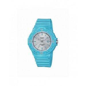 Montre Casio LRW-200H-2E3VEF PU bleu femme