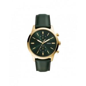 Montre Fossil homme FS5599 Neutra cuir vert
