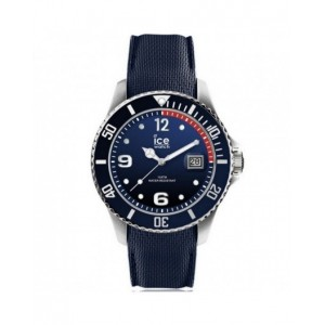 Montre Ice Watch Ice Steel 015774 silicone bleu