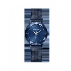 Montre Pierre Lannier 010P968 femme acier bleu