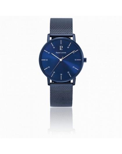 Montre Pierre Lannier 203F466 homme acier bleu