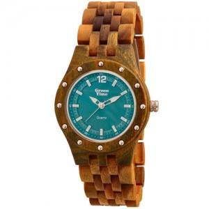 Montre Greentime ZW055C femme en bois