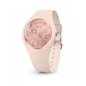 Montre Ice watch Flower nude chic small