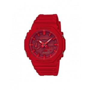 Montre G-Shock homme GA-2100-4AER rouge