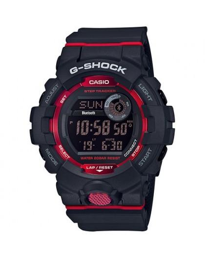 Montre G-Shock homme GBD-800-1ER rouge et noire