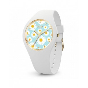 Montre Ice watch Flower white daisy small