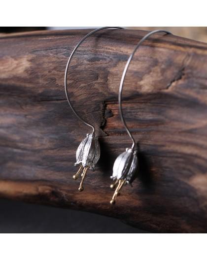 Boucles d'oreilles en argent motif Clochettes