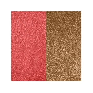 Cuir Les Georgettes 25mm rouge/tabac