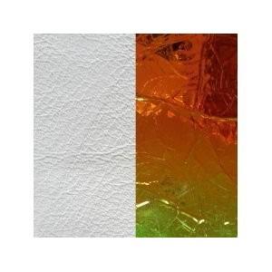 Cuir Les Georgettes 14mm blanc/laser