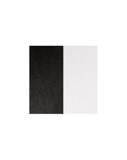 Cuir Les Georgettes 40mm noir/blanc