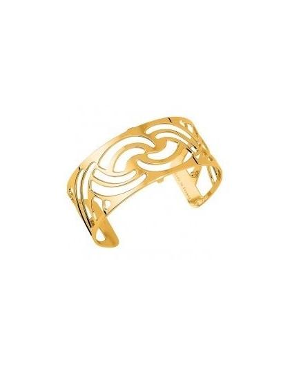 Bracelet Les Georgettes Nouage 25mm finition dorée