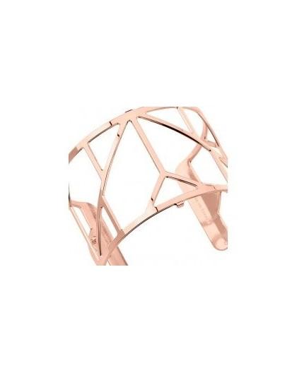 Bracelet Georgettes Amour 40mm rosé