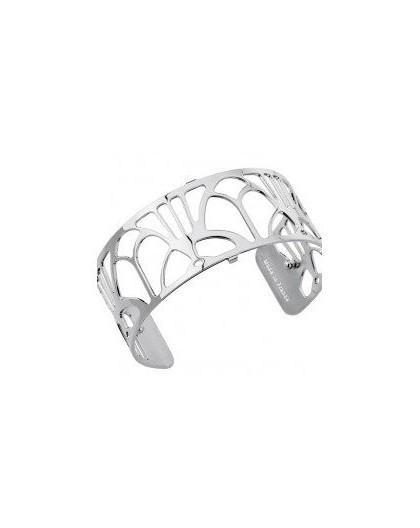 Bracelet Georgettes Arcade 25mm finition argentée