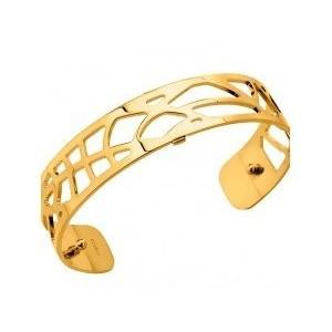 Bracelet Les Georgettes Fougères 14mm doré