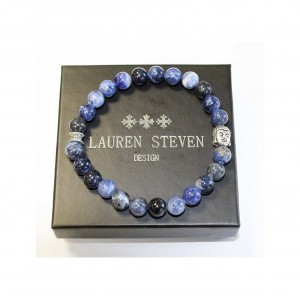 Bracelet Lauren Steven Sodalite Brésil taille L