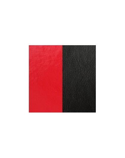 Cuir Les Georgettes 40mm rouge vernis/noir