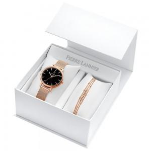 Coffret montre Pierre Lannier 396C938 bracelet