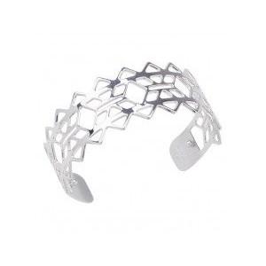 Bracelet Les Georgettes Inca argentée medium