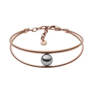 Bracelet Skagen Bijoux SKJ1141791 rosé perle grise