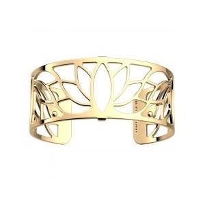 Bracelet Les Georgettes Lotus doré 25mm