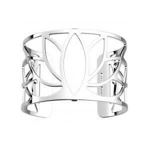 Bracelet Les Georgettes Lotus argenté 40mm