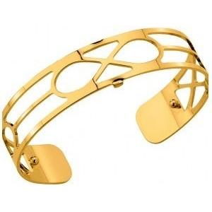 Bracelet Les Georgettes Infini doré 14mm