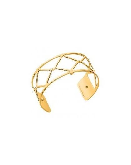 Bracelet Les Georgettes Canage doré 25mm