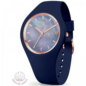 Montre Ice Watch Pearl 017127 blue medium