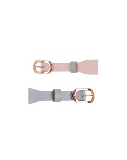 Bracelet montre Les Georgettes double lien 10mm