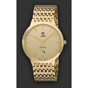 Montre Cover CO123.08 homme plaqué Or