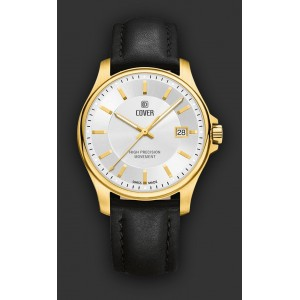 Montre Cover CO137.08 homme plaqué Or