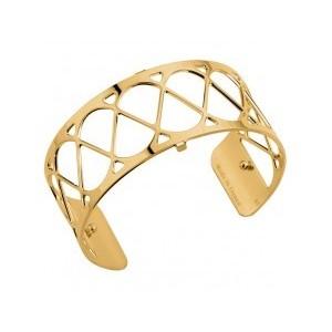 Bracelet Les Georgettes Coeur 25mm doré