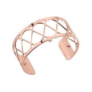 Bracelet Les Georgettes Coeur 25mm rosé