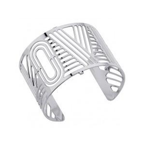Bracelet Les Georgettes Love 40mm argenté