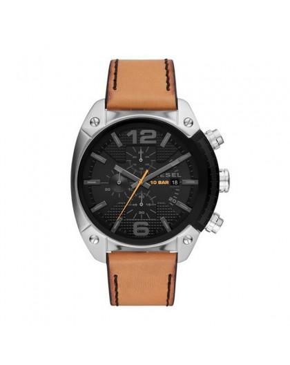 Montre Diesel Advanced DZ4503 homme cuir marron
