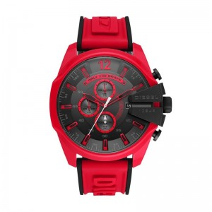 Montre Diesel DZ4526 Mega chief rouge