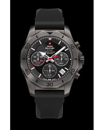 Montre Swiss Military SMS34072.07 solaire chrono