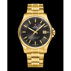Montre Swiss Military SM30200.08 plaqué or homme