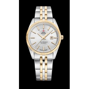 Montre Swiss Military SM34066.05 bicolore femme