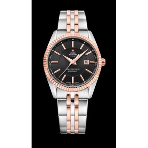 Montre Swiss Military SM34066.06 bicolore femme