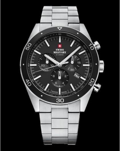 Montre Swiss Military SM34079.01 chrono acier