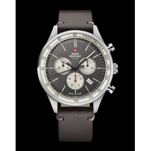 Montre Swiss Military SM34081.12 chrono cuir