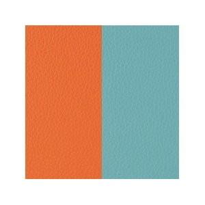 Cuir Les Georgettes 14mm Orange/bleu nimbus