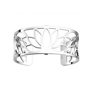 Bracelet Les Georgettes Lotus argenté 25mm